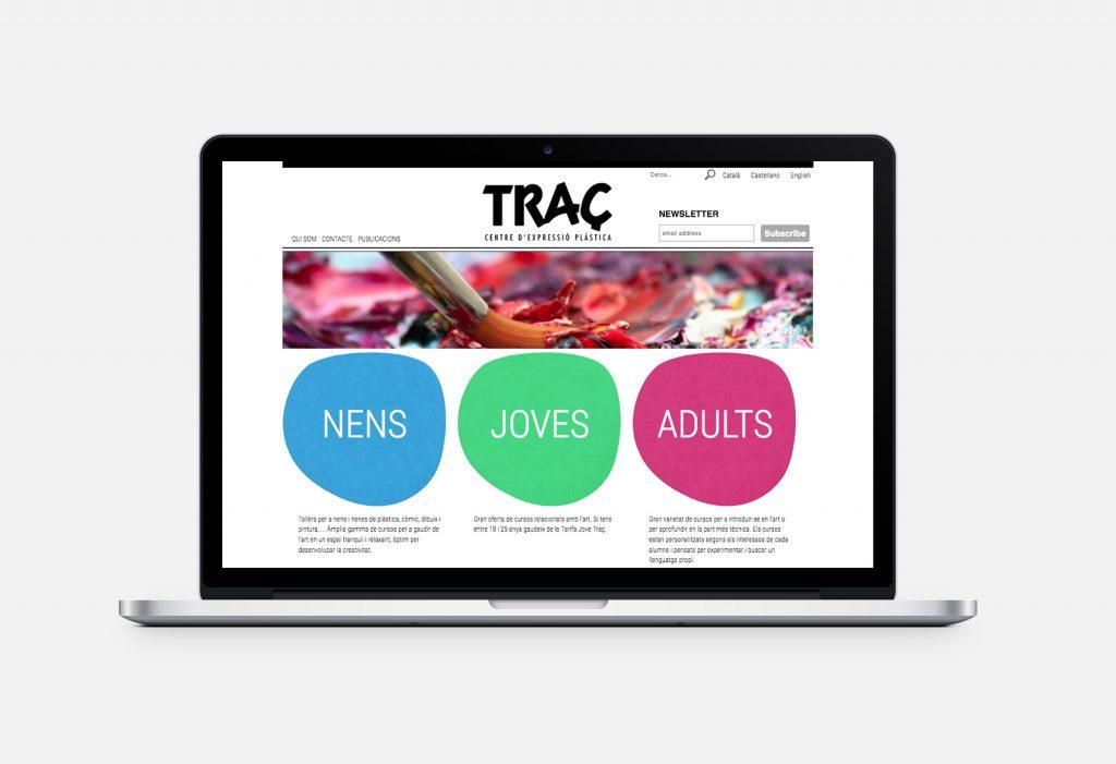 Escola Traç - Desarrollo web Drupal